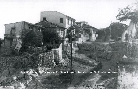 Ναύπλιο. Η Λάκκα τη δεκαετία του '30 σε φωτογραφία Ν. Μαζαράκη.