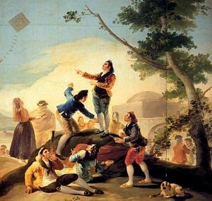 «Ο Χαρταετός», έργο του Ισπανού ζωγράφου Φρανθίσκο Γκόγια (1746-1828).