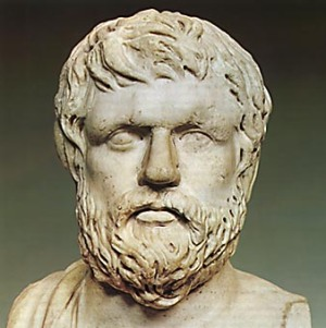Προτομή του Ξενοφώντα. Ρωμαϊκό αντίγραφο έργου του 4ου αιώνα π.Χ.  Madrid, Museo Nacional del Prado.