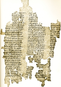 A 3rd century CE papyrus attributed to Antiphon' Peri aletheias Bk. I