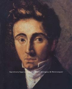 Νεανικό πορτρέτο του Ιωάννη Καποδίστρια, Ελαιογραφία Αγνώστου, Μητροπολιτικό Μέγαρο Κέρκυρας.