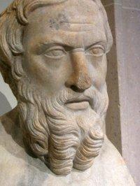 Ηρόδοτος, Ρωμαϊκό αντίγραφο (2ος αιώνας μ.Χ.).  The Metropolitan Museum of Art,  New York.