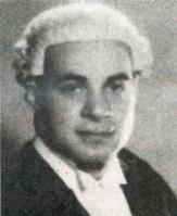 Ο Ραούφ Ντενκτάς (1924 - 2012) ως εισαγγελέας.