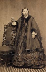Καλλιόπη Παπαλεξοπούλου. Φωτογραφικό αρχείο Γενναδείου Βιβλιοθήκης.