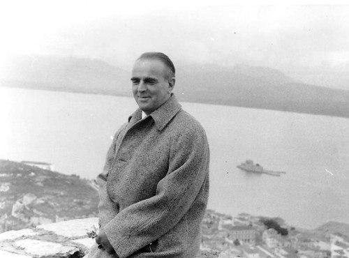 Ο Κωνσταντίνος Καραμανλής στο Ναύπλιο, αρχές 1959. Αρχείο: Κυριάκος Καλκάνης.