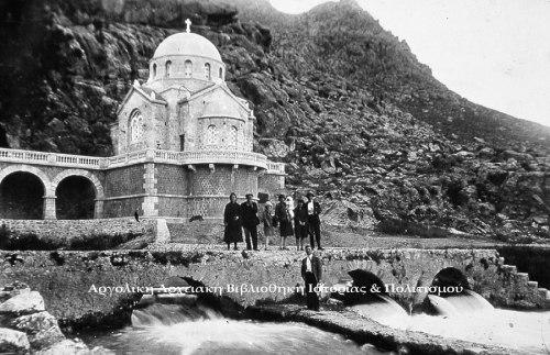 Οι πηγές του Ερασίνου και ο Ιερός Ναός της Ζωοδόχου Πηγής Κεφαλαρίου. (Δεκαετία, 1930)