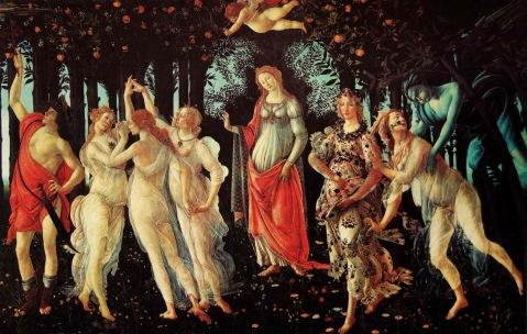 Η Αλληγορία της Άνοιξης του Botticelli (1482)