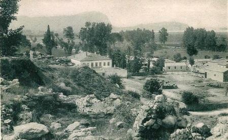 Τίρυνθα, Αγροτικές φυλακές, από καρτ ποστάλ εποχής.