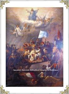 Η έξοδος του Μεσολογγίου. Πίνακας του Θεόδωρου Βρυζάκη.