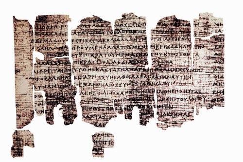 Ο «Πάπυρος του Δερβενίου», το αρχαιότερο σωζόμενο αναγνώσιμο «βιβλίο» της Ευρώπης. Διασώζει σε 266 ημιαπανθρακωμένα σπαράγματα, αποσπάσματα του Ιερού Λόγου και την κοσμογονική θεωρία των φιλοσόφων.