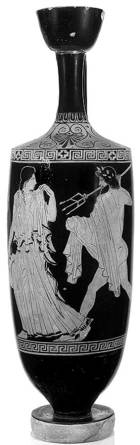 Ποσειδώνας και Αμυμώνη. Λύκηθος. Metropolitan Museum of Art. New York.