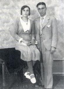 Ο Χρήστος Αίσωπος με την αδελφή του Ευγενία Τυροβολά που έμελλε να ζήσει το τραγικό τέλος του.