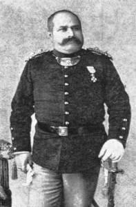 Δημήτριος Μπαϊρακτάρης. Στρατιωτικός και πρώτος αστυνομικός διευθυντής της Αθήνας.