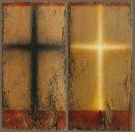 Φωτισμένη σκιά σταυρού