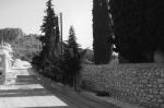 Η ανατολική πλευρά του νεκροταφείου τουΝαυπλίου.