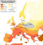 Χάρτης διασποράς τηςπανδημίας.