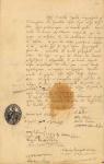 Η επιστολή πολιτογράφησης του φιλέλληνα γιατρού Andre LouisGosse