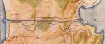 Χάρτης του Ισθμού τηςΚορίνθου.
