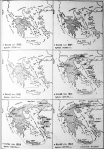 Πολιτικός χάρτης της Ελλάδας,1832-1923.