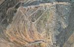 Αεροφωτογραφία του οχυρωμένου χώρου της Μιδέας χώρου-της-Μιδέας