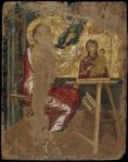 Ο Ευαγγελιστής Λουκάς ζωγραφίζει εικόνα τηςΘεοτόκου